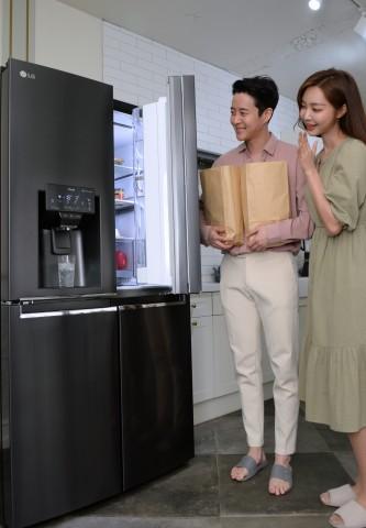 LG전자가 디오스 얼음정수기냉장고를 출시한다
