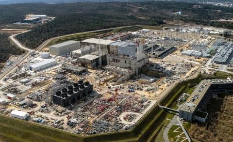 프랑스 남부 프로방스 ITER 건설 현장