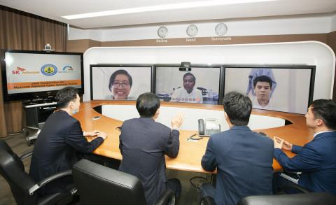SK텔레콤이 미얀마 국립사이버보안센터에 차세대 보안 솔루션 및 컨설팅을 수출했다