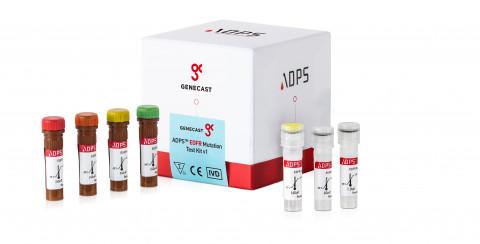 진캐스트의 주력제품인 ADPS EGFR 변이 진단키트