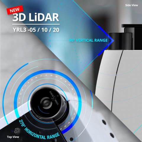 유진로봇 3D LiDAR 제품