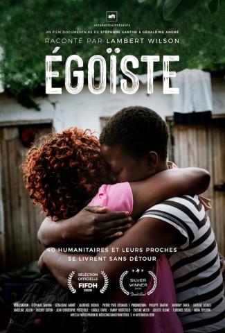 국경없는의사회 구호 활동가의 이야기를 담은 다큐멘터리 '에고이스트' 포스터