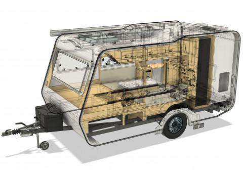 네오오토 카라반 CAD 이미지