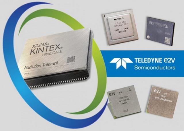 Teledyne e2v는 자일링스(Xilinx, Inc.)와 공동으로 우주용 등급 프로그래머블 로직 분야의 새로운 혁신에 최적화된 첨단 솔루션을 개발했다.