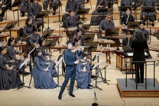 2020 겨레의 노래뎐 중 바이올린 협주곡 '옹헤야(바이올린 대니 구)'