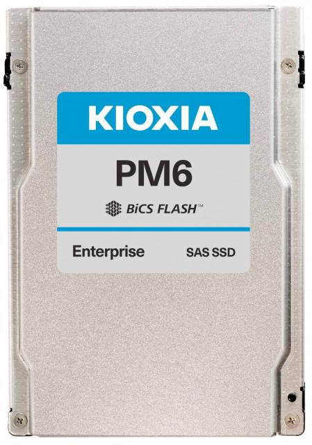 키옥시아 PM6 시리즈: 서버 및 스토리지용 업계 최조 24G SAS SSD