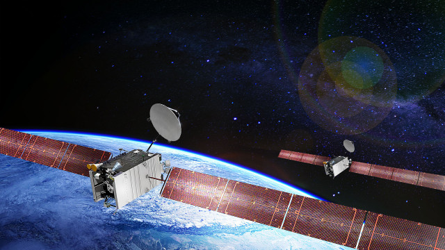 Boeing/Artist's Rendition of SES-20 and SES-21 satellites