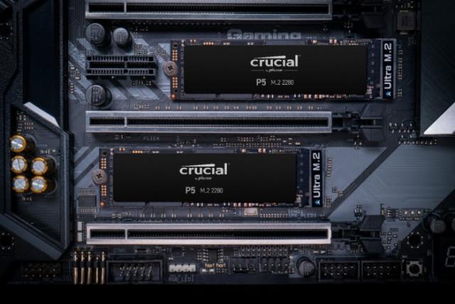 대원CTS가 전문가를 위한 NVMe SSD 마이크론 Crucial P5를 출시했다