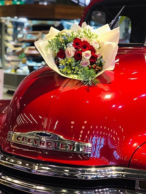 두스프랑스가 오픈한 브랜드 플로르데이(Fleur day : 꽃이야) 매장