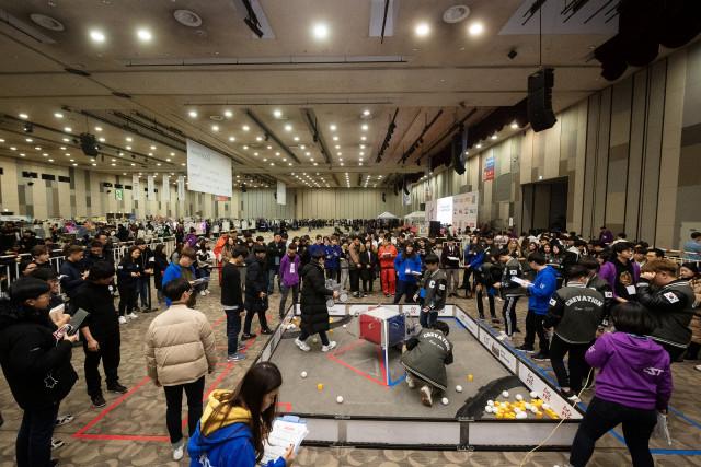 코리아로봇챔피언십 FTC 전경