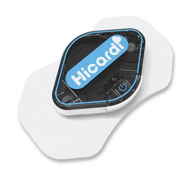 하이카디(HiCardi) 웨어러블 ECG 모니터링 기기를 통해 의사는 환자의 심장상태를 원격으로 모니터링할 수 있다