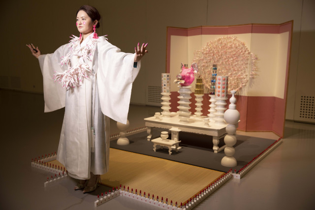 DA IN PARK, Beauty Cult, 2020, Mixed media, Performance and installation, Dimensions variable, Court...