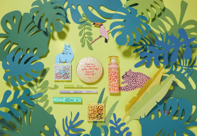 LG생활건강이 여름맞이 fmgt 트로피컬 바이브 컬렉션을 출시했다