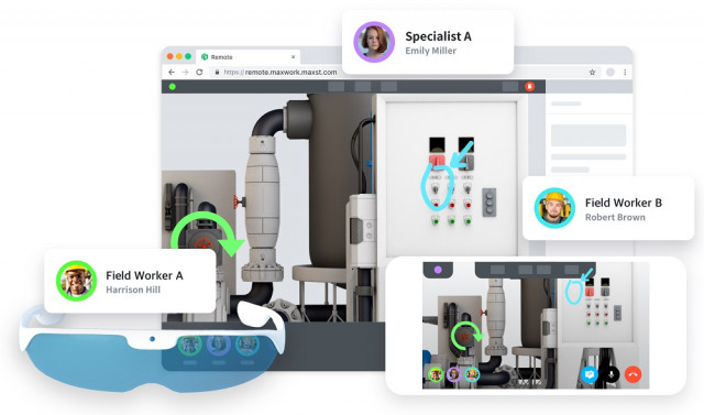 MAXST launched Industrial AR Service MAXWORK which can innovatively reduce the implementation barrie...