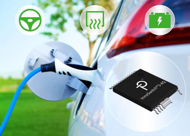 파워 인테그레이션스가 자동차 BEV 및 PHEV 애플리케이션용 고집적 InnoSwitch3 플라이백 스위처 IC를 출시했다