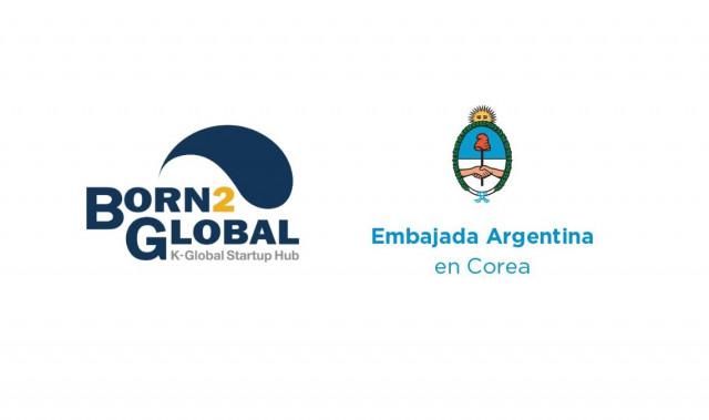 본투글로벌센터, 주한아르헨티나대사관 로고