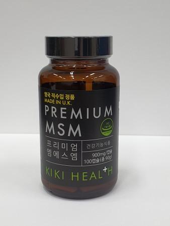 유케이헬스케어의 '키키 프리미엄 MSM 100캡슐' 제품