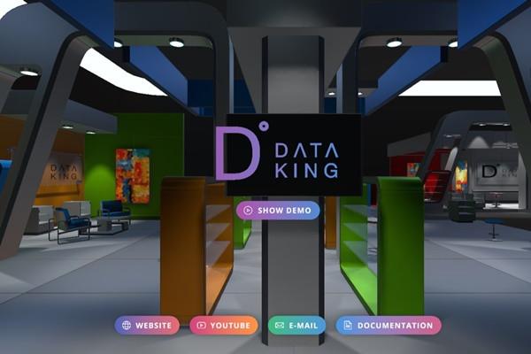 데이터킹이 온라인박람회용 가상 컨벤션 구축 솔루션을 개발했다