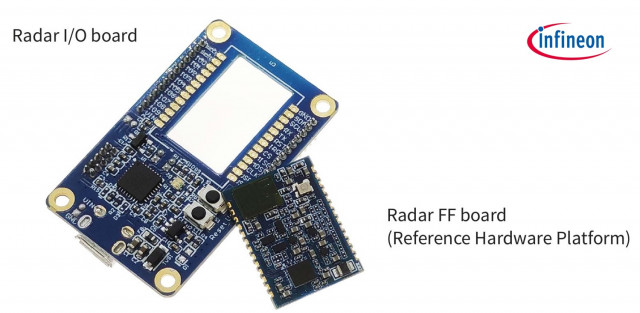 Infineon KIT BGT60TR13C EMBEDD