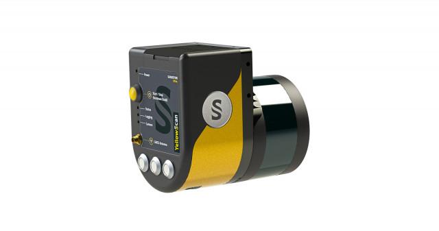 옐로우스캔 서베이어 울트라는 벨로다인 울트라 퍽 센서를 사용해 항공 3D 매핑에 필요한 높은 정밀도와 정확도를 달성한다