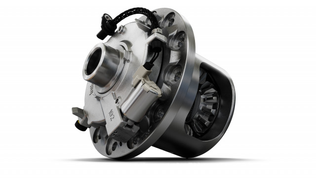 Eaton's InfiniTrac™ electronically controlled, limited-slip differential provides optimized vehicle ...