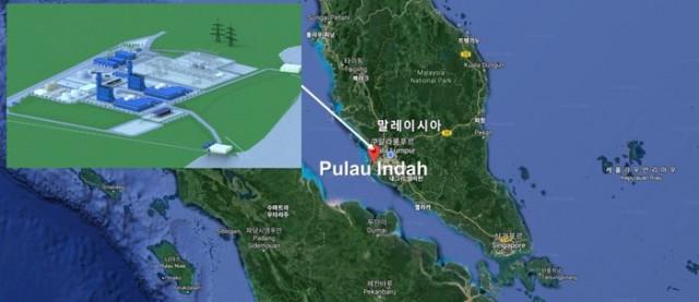 한전이 말레이시아 풀라우인다에 1200MW 가스복합발전사업 장기 전력 판매계약을 체결했다