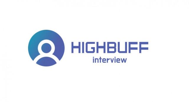 하이버프 인터뷰 로고