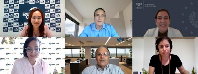 '한-이스라엘 혁신 생태계' 웨비나 참석자들