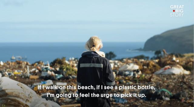 재활용 절감과 재사용(Recycle.Reduce.Reuse) 시리즈 중 이스터섬 편