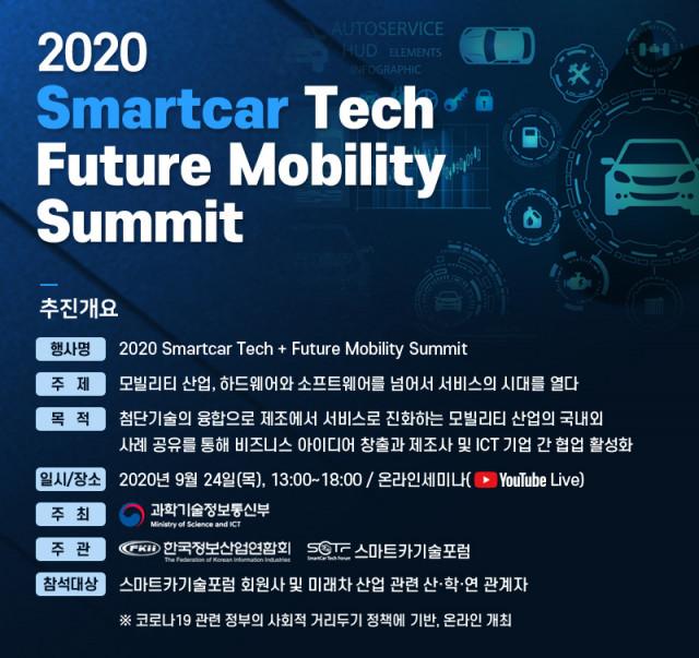 2020 SmartCar Tech + Future Mobility Summit 행사 개요
