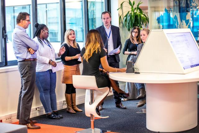 Paris assistance centre meeting