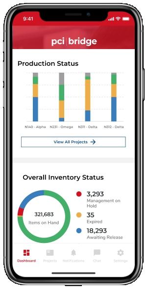 pci | Bridge의 디지털 인터페이스를 통해 고객은 재고, 생산, 유통 및 배송 데이터를 포함한 실시간 정보를 체계적이고 사용자 정의 가능한 형식으로 쉽게 액세스할 수 있다....