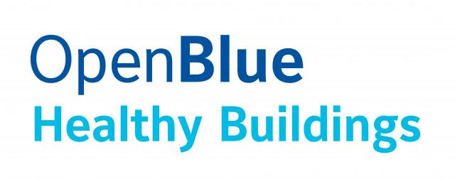 OpenBlue Healthy Buildings 로고