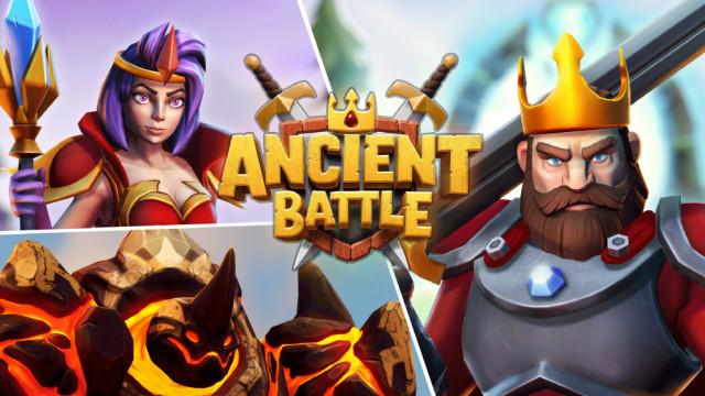 Lion Studios가 출시한 첫 하이브리드 캐주얼 게임 '에인션트 배틀'