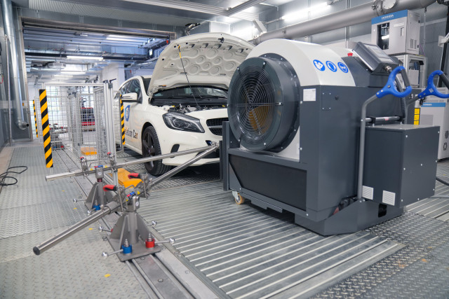 TÜV SÜD의 독일 하임스하임 배기가스 시험소