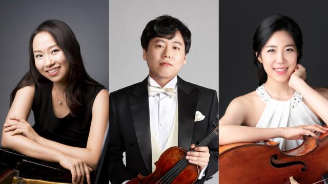일라이나이 트리오, 왼쪽부터 피아노 정혜연, 바이올린 박주경, 첼로 정승원