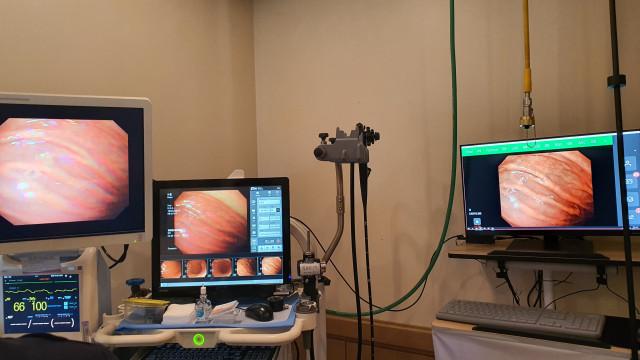 위내시경실에 공급된 인공지능 실시간 병변추적 시스템