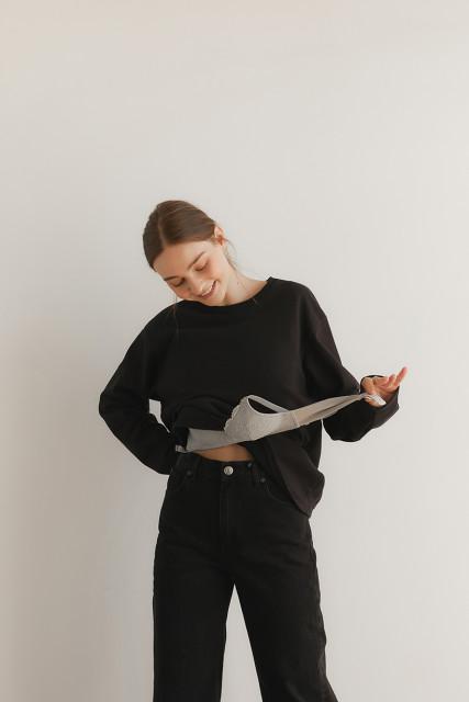 LAiKiN F/W 'Soft NO-BRA T shirt'