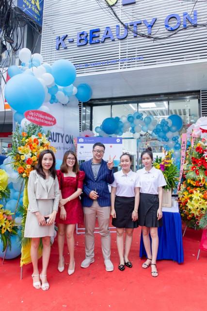 메이트코리아가 베트남에 개설한 한국 화장품 전용 홍보판매장 'K-Beauty on'