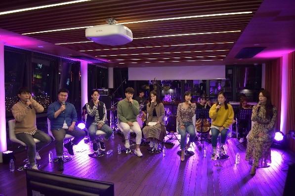 웰컴대학로 옥상 Live 뮤지컬 '빨래' 온라인 생중계 현장