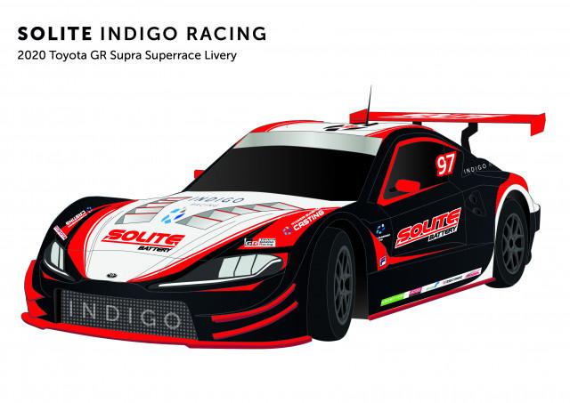 쏠라이트 인디고 레이싱, 2020년 CJ대한통운 슈퍼레이스 챔피언십 출전 차량 리버리