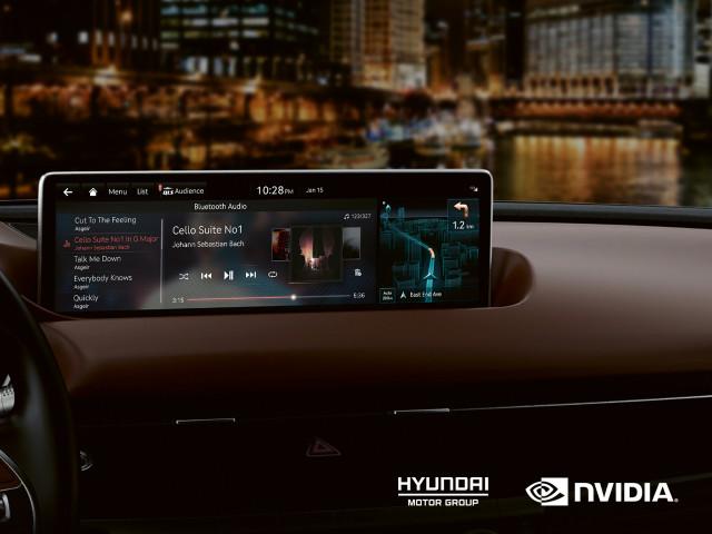 현대자동차그룹이 세계적 인공지능 컴퓨팅 기업 엔비디아와 기술 개발을 협력해 확대한다