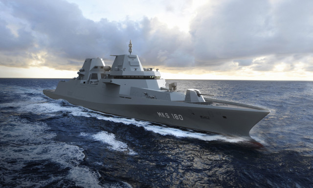 MKS 180 frigate