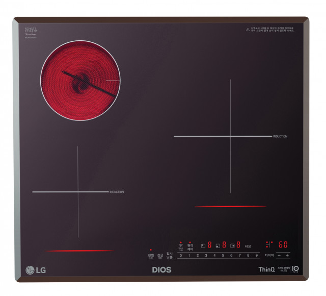 LG 디오스 하이브리드 전기레인지