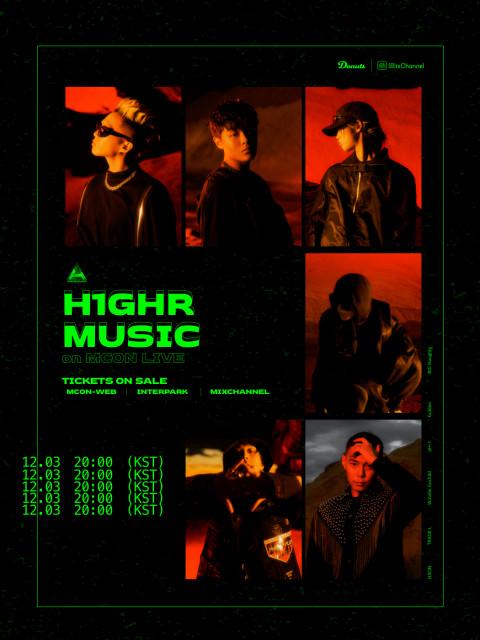 MCON LIVE - H1GHR MUSIC