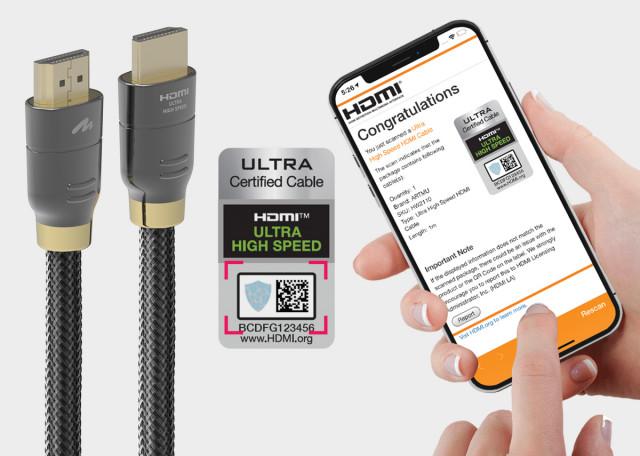 8K HDMI2.1 영상 규격 인증 획득한 아트뮤 케이블