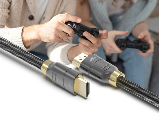 차세대 콘솔 기기를 위한 아트뮤 HDMI2.1 인증 케이블