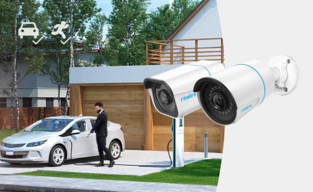 사람/자동차 인식 기능이 있는 리오링크의 RLC-810A 및 RLC-510A PoE IP 카메라