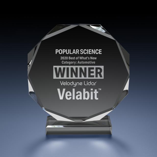벨로다인 라이다의 벨라비트 센서가 파퓰러 사이언스의 베스트 오브 왓츠 뉴 상을 수상했다