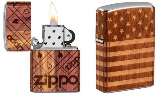 지포-우드척 USA의 불에 맞서는 불꽃 컬렉션 제품 2종